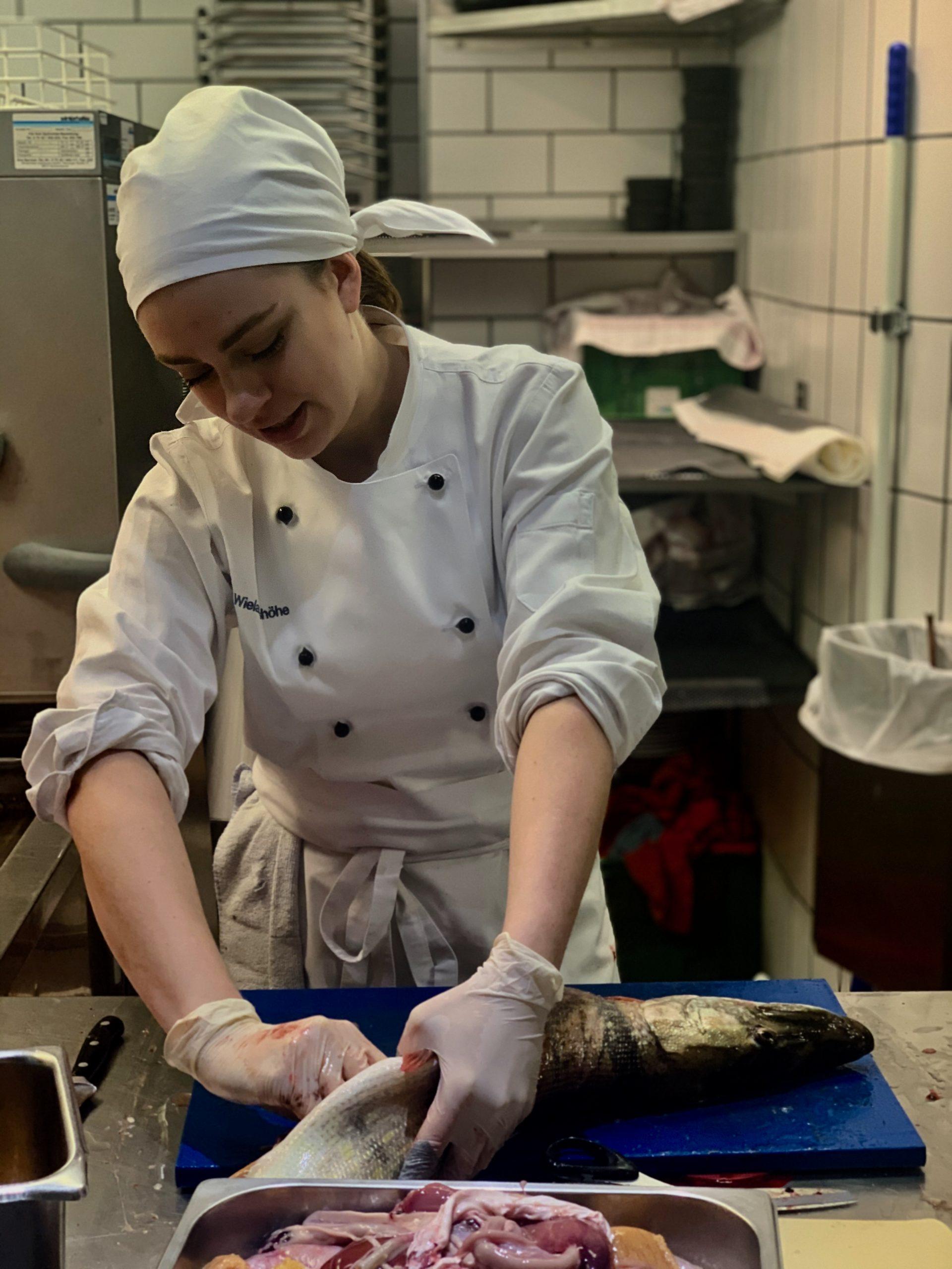 Marie Schinkel, die 'Queen' der Fische!