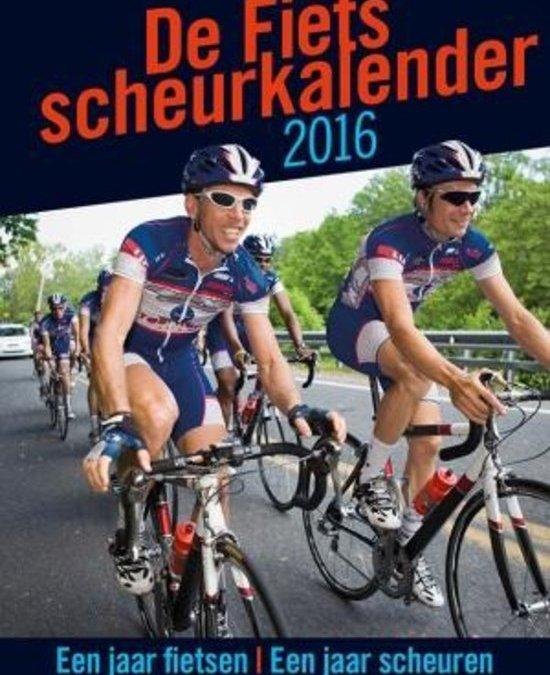 Een jaar fietsen, een jaar scheuren –De zevende Fietsscheurkalender 2016