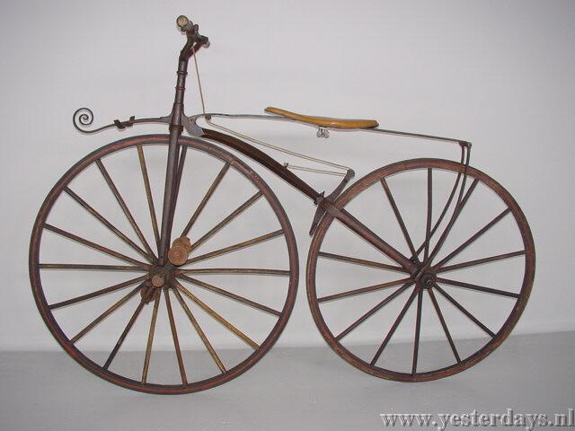 Evolutie fiets