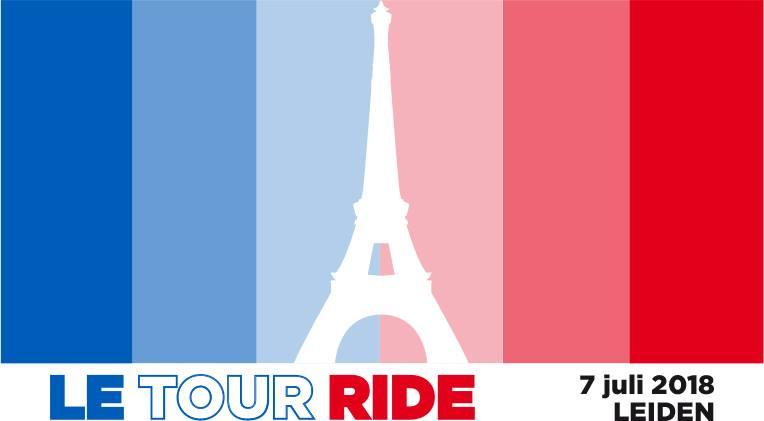 Gerben Karstens eregast bij Le Tour Ride op 7 juli in Leiden