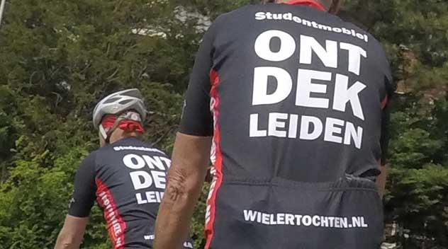 Wielertochten.nl sponsor ONTDEK Leiden wielershirt