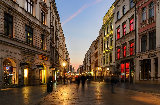 Kraków ulice