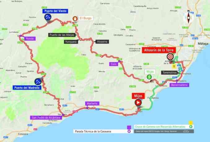 wielrenschoenen-nl Vuelta-2018-route-etappe 3