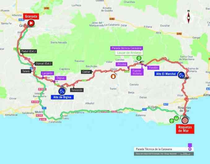 wielrenschoenen-nl Vuelta-2018-route-etappe 5