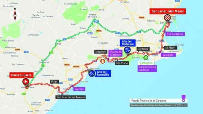 wielrenschoenen-nl Vuelta-2018-route-etappe 6