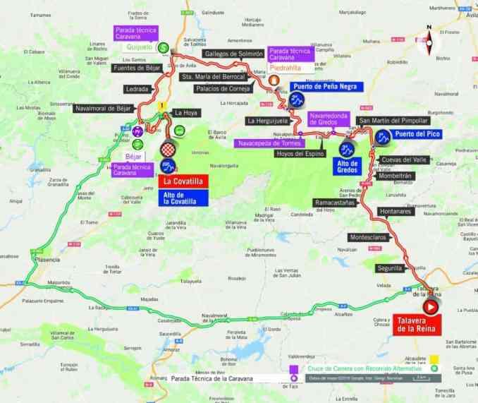 wielrenschoenen-nl Vuelta-2018-route-etappe 9