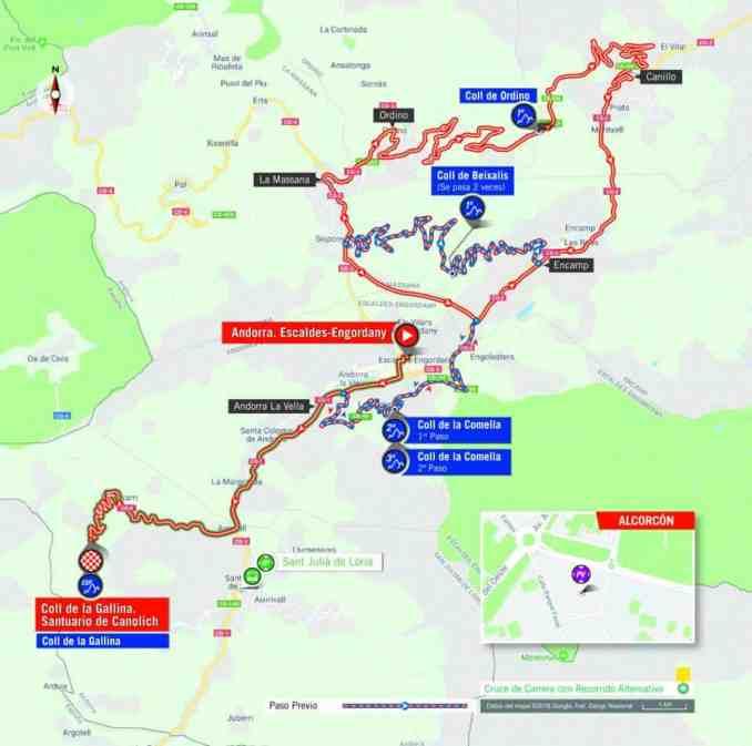 wielrenschoenen-nl Vuelta-2018-route-etappe 20