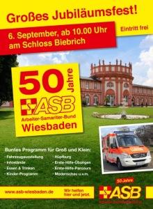 50 Jahre ASB Wiesbaden