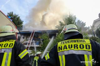 Gebäudebrand Naurod