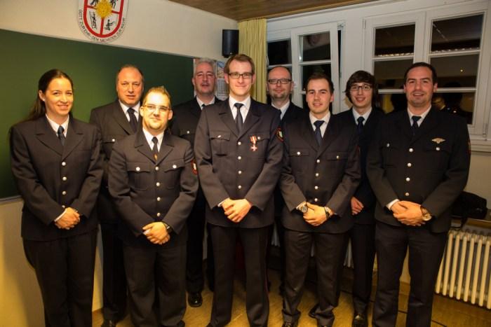 Der neue Feuerwehrausschuss
