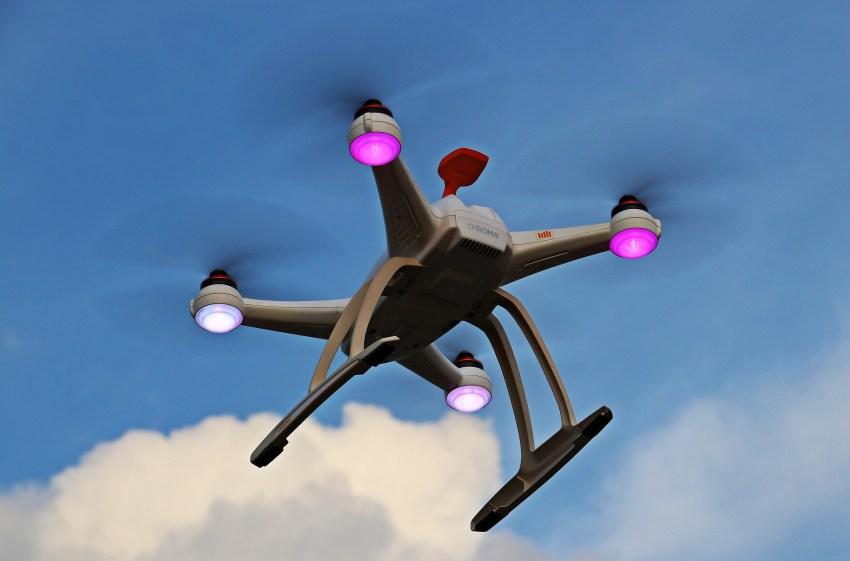 Drohne gesichtet