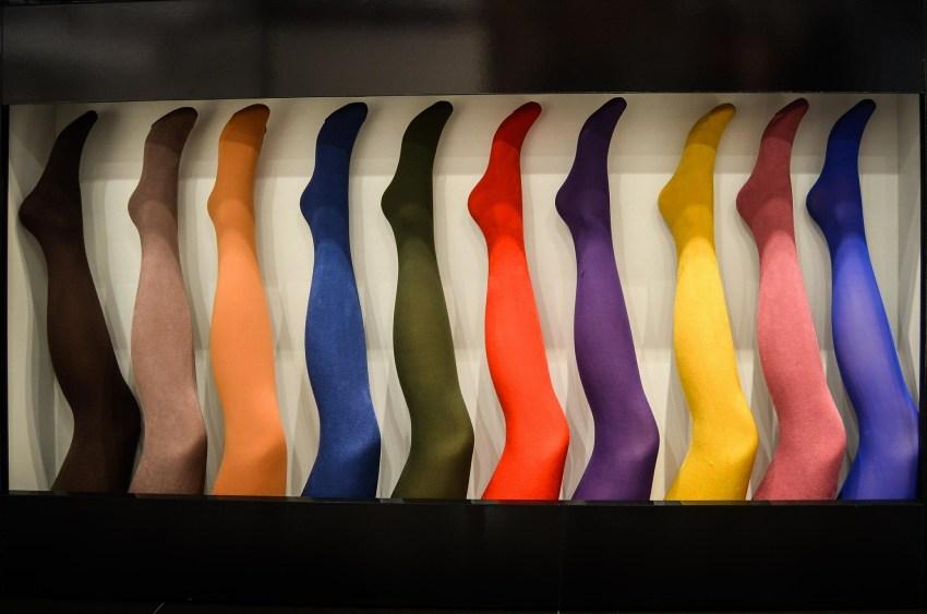 Strumpfhosen in verschiedenen Farben