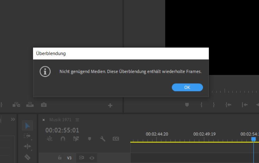Adobe Premiere wiederholende Frames