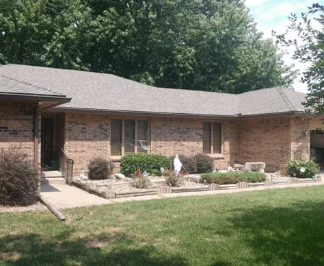 Residential asphalt roofing wichita ks