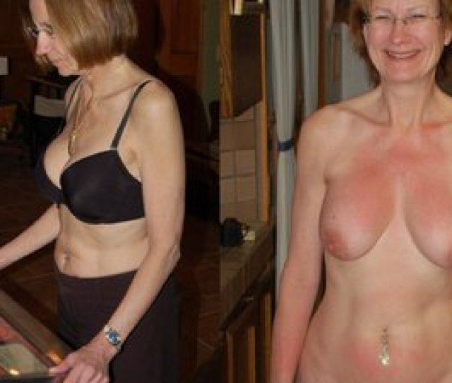 More Hot Wives Dressed And Undressed