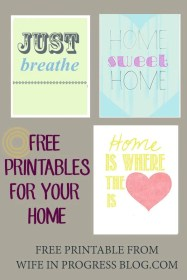 Free Printables for your home