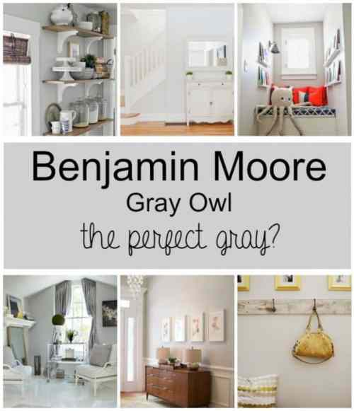 Paint Colors: Gray Owl By Benjamin Moore