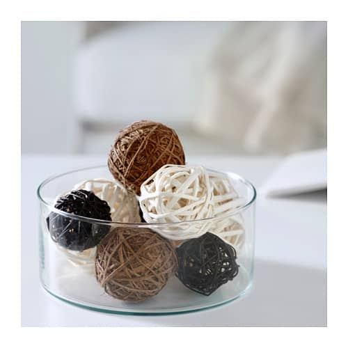 IKEA rattan balls