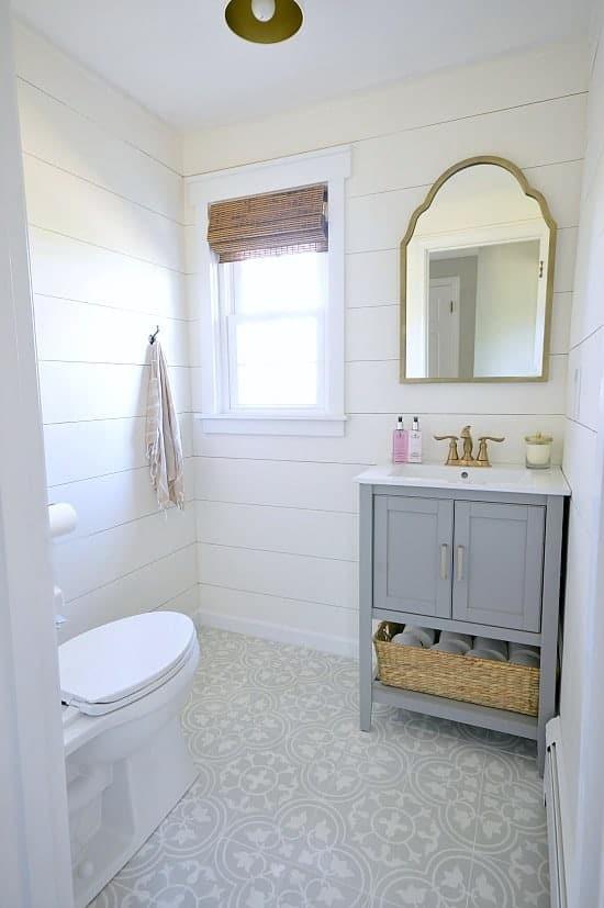 Bathroom Reveal - Powder Room Makeover