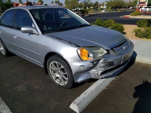 Vegas 車禍