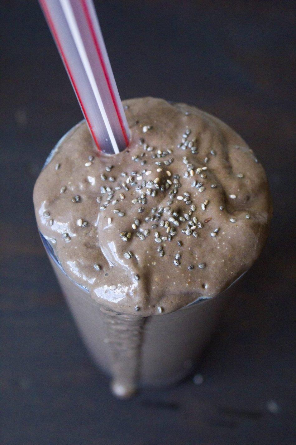 Vegan Chocolate Pudding Shake