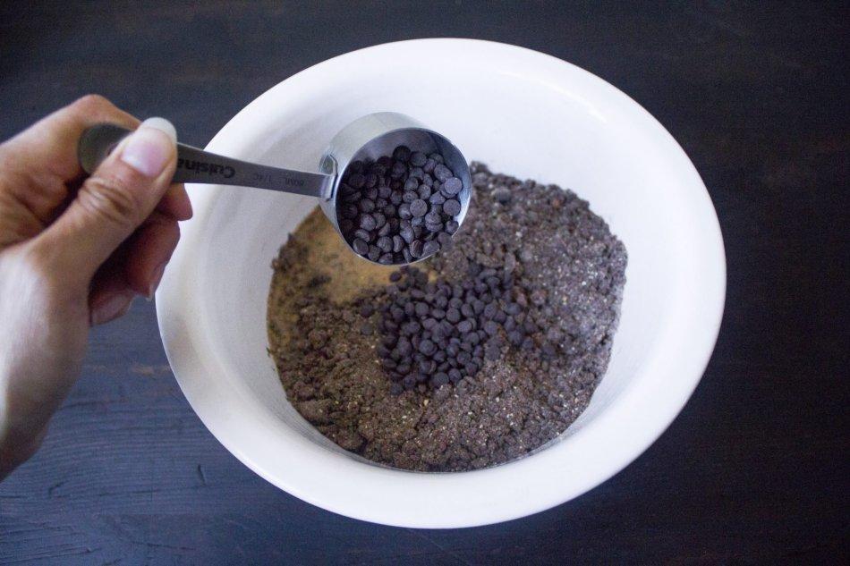 Earl Grey Chocolate Scones With Lavender Sugar