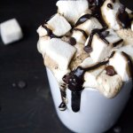 Easy and Delicious Vegan Hot Chocolate with marshmallows