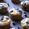 Paleo Banana Blueberry Muffins Perspective