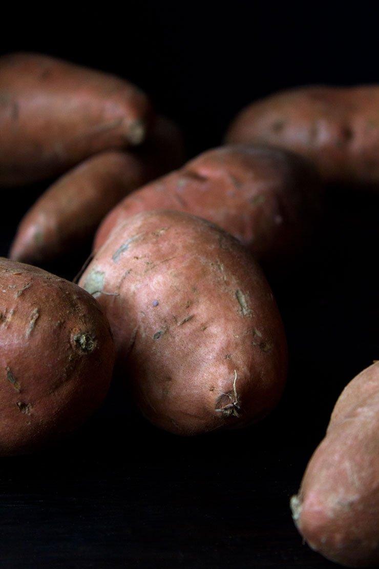 Maple Glazed Sweet Potatoes | Gluten Free, Paleo and Vegan Friendly