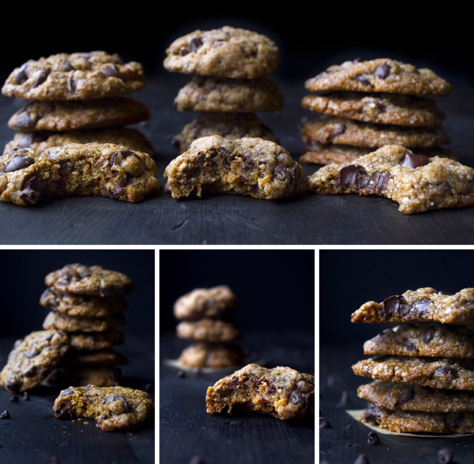 Coconut Sugar Chocolate Chip Cookies | Includes gluten-free, vegan/paleo, and gift in a jar options.