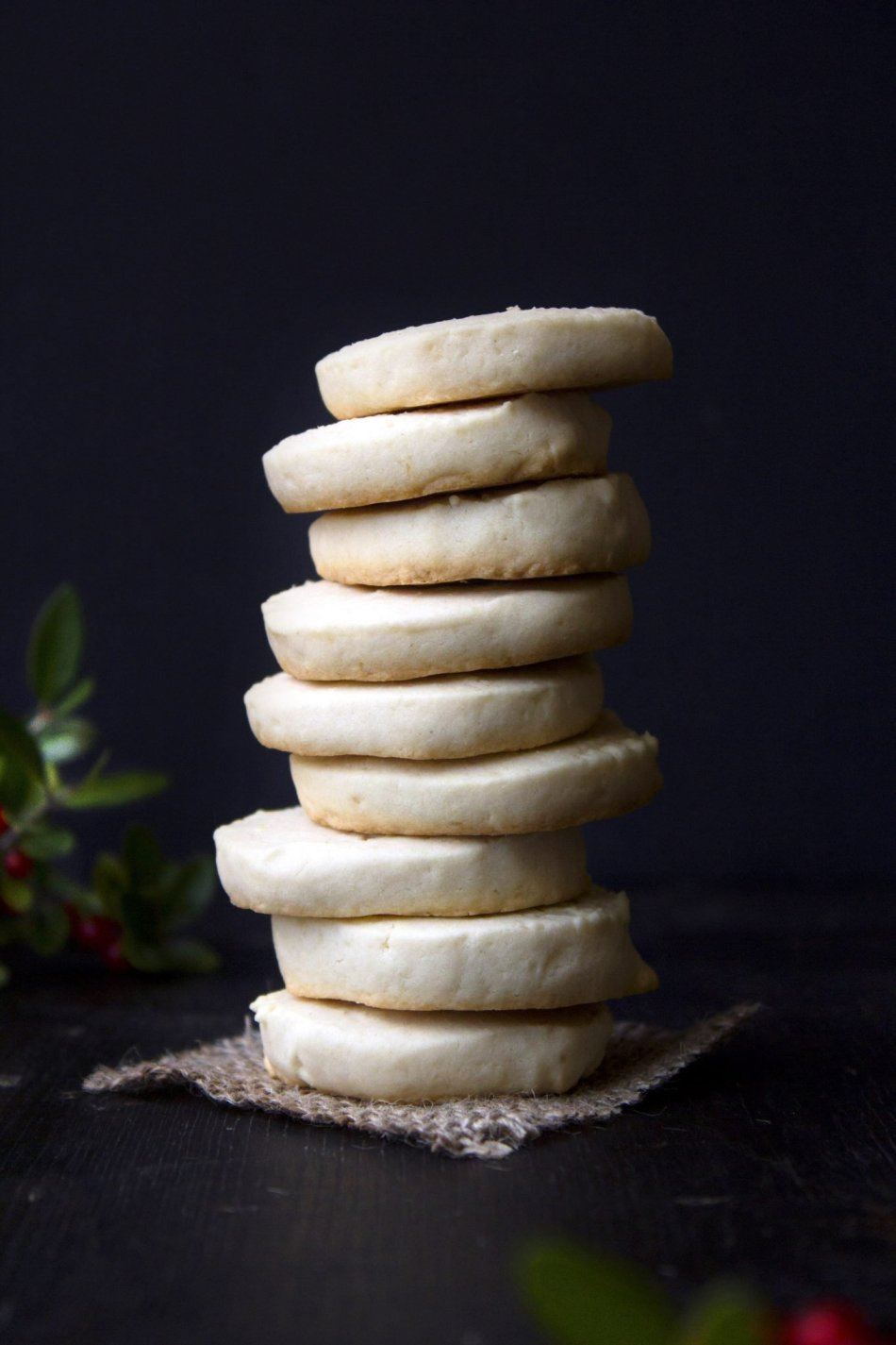 Shortbread Cookies   Gluten and refined sugar free. Includes vegan substitutions.