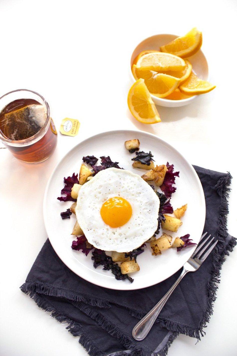 Kale & Potato Breakfast Hash