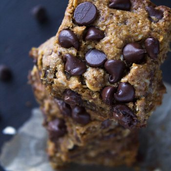 Chocolate Chip Coconut Oat Bars
