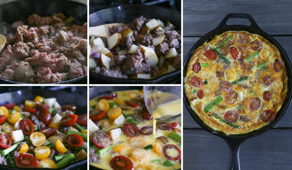 Mother's Day Brunch Recipes   Dairy-Free Sausage & Veggie Frittata