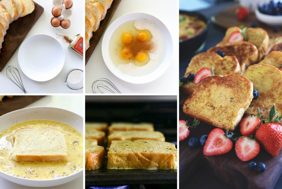 Mother's Day Brunch Recipes   French Toast with Fresh Berries