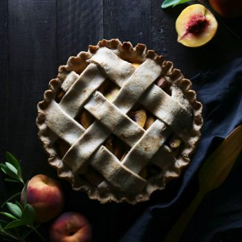 Classic Peach Pie {gluten, dairy, & refined sugar free}