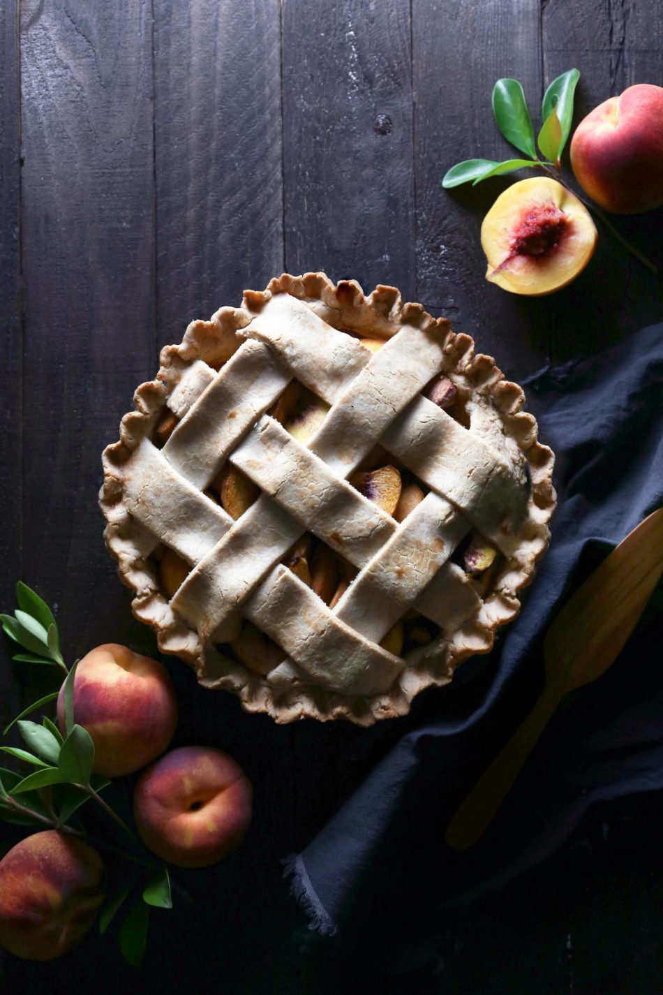 http://www.wifemamafoodie.com/simple-peach-pie-gluten-dairy-refined-sugar-free/