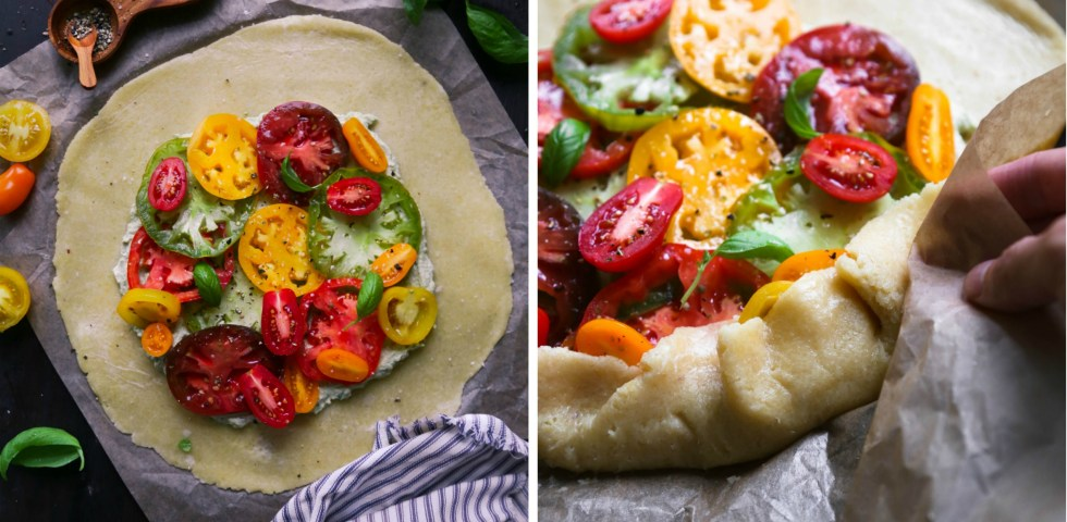 Grain-Free Heirloom Tomato Galette