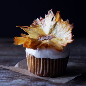Naturally Sweetened Hummingbird Cupcakes