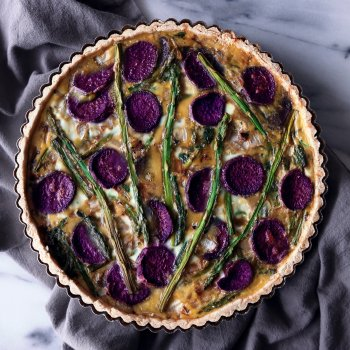 Simple Vegetable Quiche