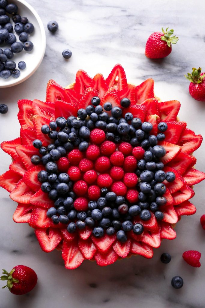 Mixed Berry Tart | Gluten, Dairy, & Refined Sugar Free