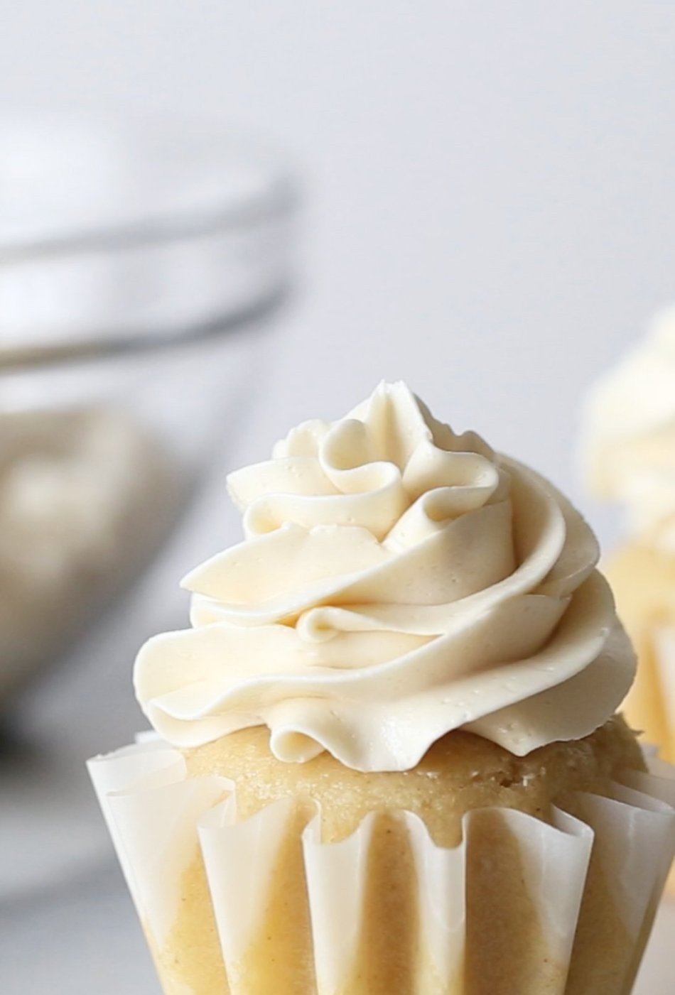 Naturally Sweetened Swiss Meringue Buttercream | Grain, gluten, and refined sugar free