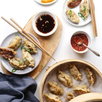 Simple Vegetable Dumplings