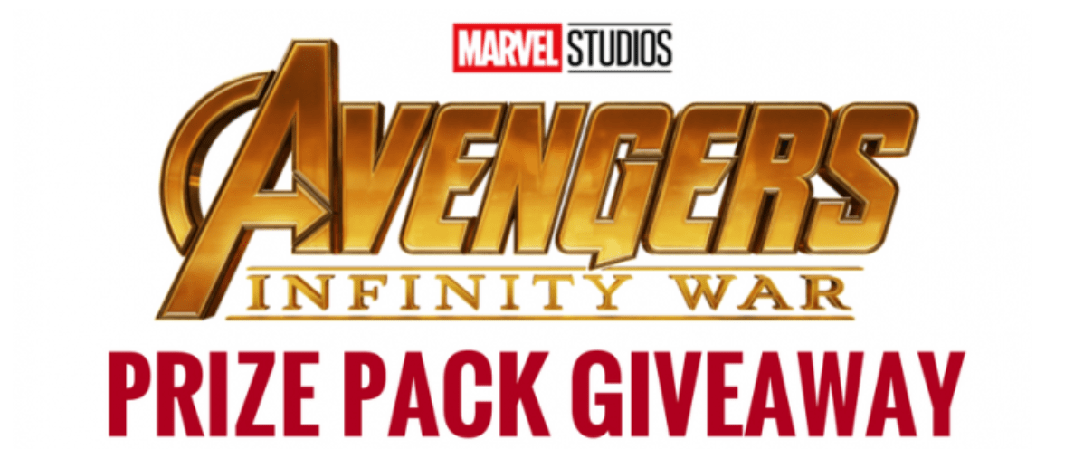 Avengers Infinity War Prize Pack Giveaway