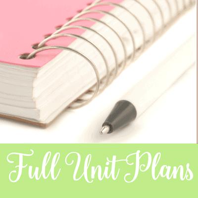 Full Unit Plans