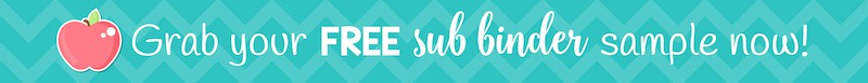 Grab your FREE sub binder sample now!