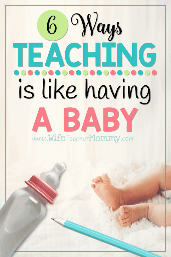 Six Ways Teaching is like Having a Baby