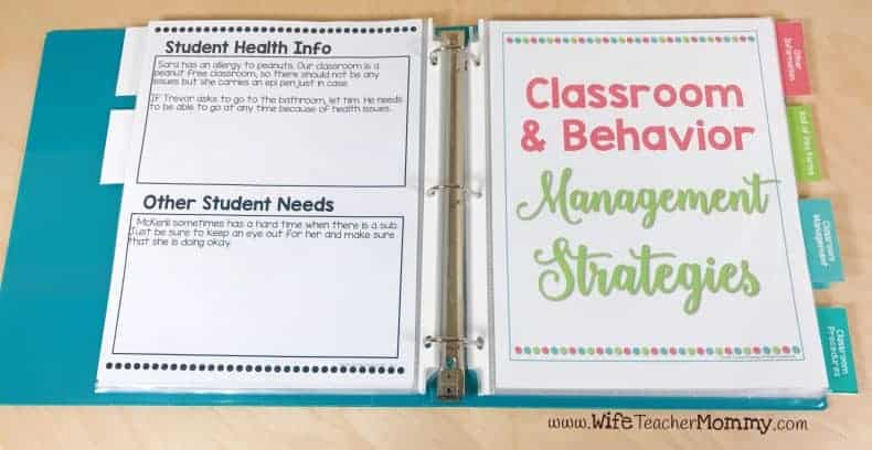 Student Health Info and Other Student Needs