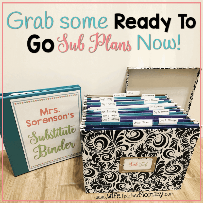 Grab some Ready To Go Sub Plans Now!