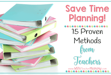 Save Time Planning: 15 Proven Methods from Teachers